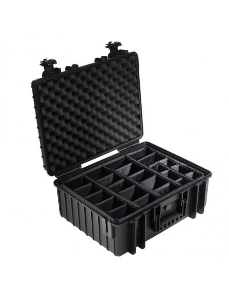 B&W 6000/B/RPD varustekotelo Salkku/klassinen laukku Musta B&w International 6000/B/RPD - 2