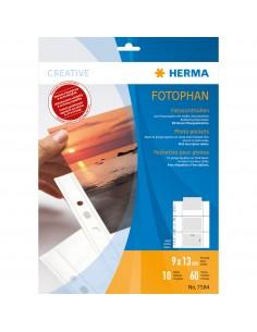HERMA 7584 muovitasku 90 x 130 mm Polypropeeni (PP) 10 kpl Herma 7584 - 1
