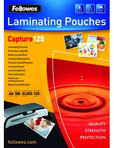 Fellowes ImageLast A5 125 Micron Laminating Pouch - 100 pack Fellowes 5307302 - 1