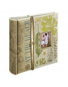 Hama Leaves photo album Green, Multicolour, Oat 200 sheets 10 x 15 cm Hama 2466 - 1