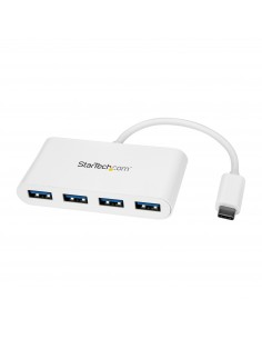 StarTech.com 4 Port USB C Hub with 4x USB-A Ports (USB 3.0 SuperSpeed 5Gbps) - Bus Powered Portable/Laptop USB-C to Adapter 3.1