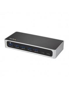 StarTech.com 7-portars USB-C-hubb - USB-C till 5x USB-A och 2x USB 3.0 Startech HB30C5A2CSC - 1