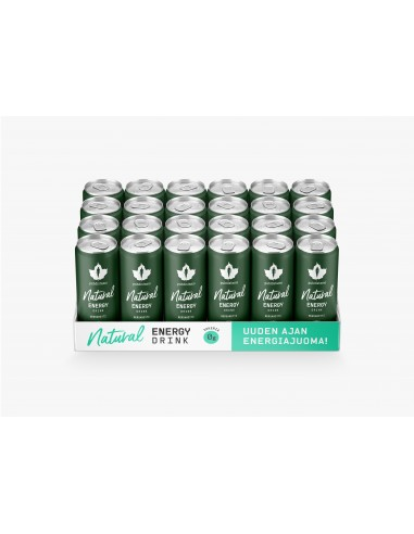Natural Energy Drink - Bergamotti 24 x 330ml pullo Puhdistamo NEDBM330X24 - 1