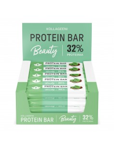 Kollageeni Protein Bar - Minttu 24 x 30 g proteiinipatukka Puhdistamo KPM30X24 - 1