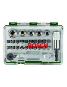 Bosch Rainbow Pro 27 bit + ratchet talttaterä kpl Bosch 2607017160 - 1