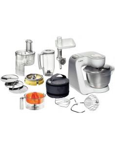 Bosch Styline food processor 900 W 3.9 L Stainless steel, White Bosch MUM54251 - 1