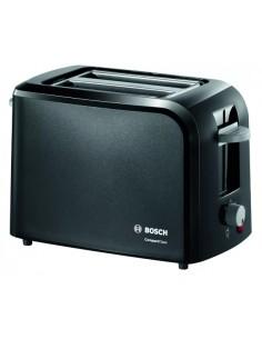 Bosch TAT3A013 leivänpaahdin 2 viipale(i)ta 980 W Harmaa Bosch TAT3A013 - 1