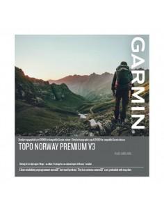 Garmin TOPO Norway Premium v3, 4 - Sentral Ost navigaattorin kartta MicroSD/SD Norja Auto Garmin 010-12432-01 - 1