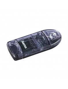 Hama 00124194 kortläsare USB Antracit Hama 124194 - 1
