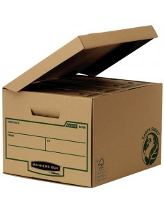Fellowes 4470809 file storage box Paper Brown Fellowes 4470809 - 1