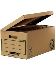 Fellowes 4472205 säilytyslaatikko Varastolaatikko Suorakulmainen Paperi Musta, Ruskea Fellowes 4472205 - 1