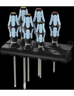 Wera 3334/6 Screwdriver set Yksittäinen Standardi ruuvimeisseli Wera 05032060001 - 1