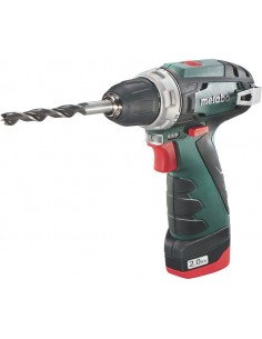 Metabo PowerMaxx BS Avaimeton 800 g Musta, Vihreä Metabo 600079500 - 1