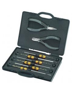 Knipex 00 20 18 ESD tekninen työkalusetti 8 työkalua Knipex 00 20 18 ESD - 1