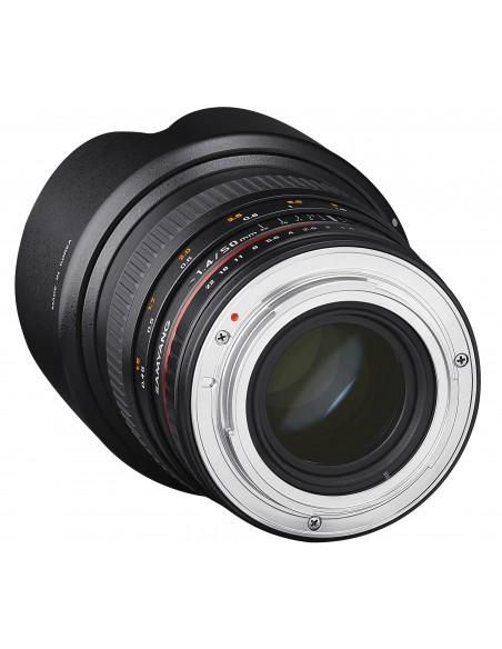 Samyang 50mm F1.4 AS UMC SLR Vakio-objektiivi Musta Samyang 21848 - 4