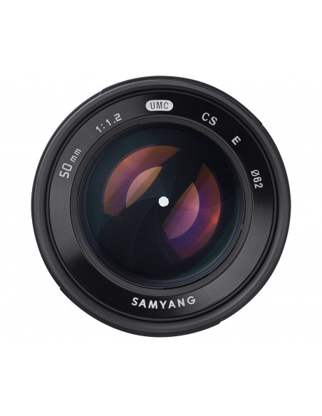 Samyang 50mm F1.2 AS UMC CS MILC Vakio-objektiivi Musta Samyang 21937 - 2