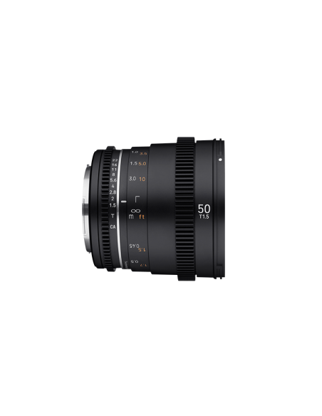Samyang VDSLR 50mm T1.5 MK2 MILC Elokuvaobjektiivi Musta Samyang 23013 - 4
