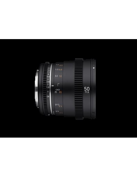 Samyang VDSLR 50mm T1.5 MK2 MILC Elokuvaobjektiivi Musta Samyang 23014 - 4