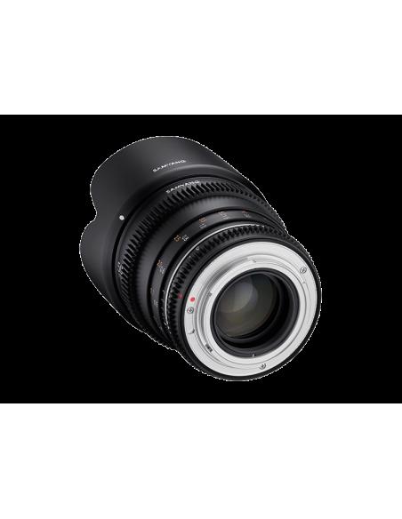 Samyang VDSLR 50mm T1.5 MK2 MILC Elokuvaobjektiivi Musta Samyang 23018 - 2