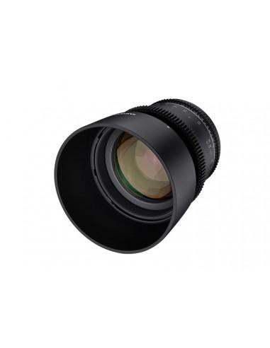 Samyang VDSLR 85mm T1.5 MK2 MILC Elokuvaobjektiivi Musta Samyang 23019 - 1