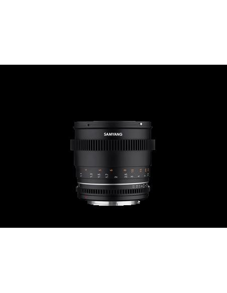 Samyang VDSLR 85mm T1.5 MK2 MILC Elokuvaobjektiivi Musta Samyang 23022 - 3