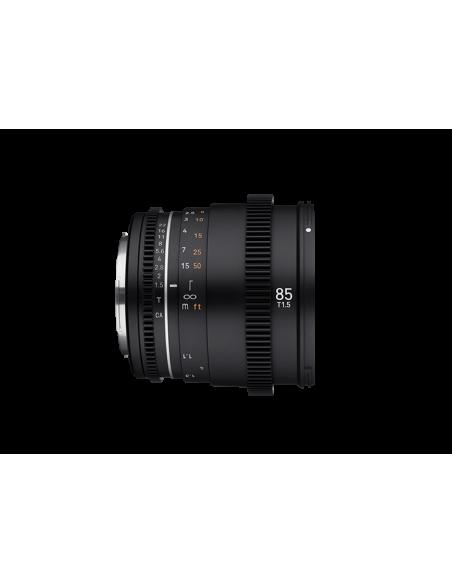 Samyang VDSLR 85mm T1.5 MK2 MILC Elokuvaobjektiivi Musta Samyang 23022 - 4
