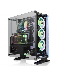 Thermaltake DistroCase 350P Midi Tower Musta Thermaltake CA-1Q8-00M1WN-00 - 1