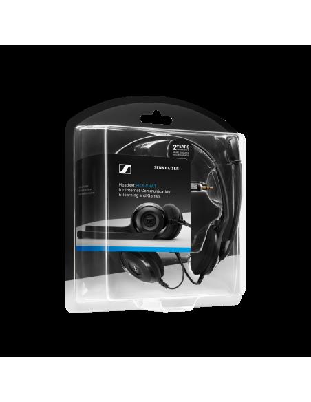 EPOS PC 5 Chat Kuulokkeet Pääpanta 3.5 mm liitin Musta Sennheiser 508328 - 7