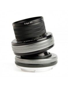 Lensbaby Composer Pro II with Edge 80 Optic SLR Musta, Hopea Lensbaby LBCP280N - 1