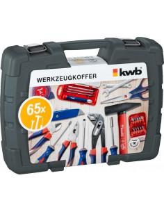 Kwb Werkzeugkoffer 65-tlg. Kwb 370730 - 1