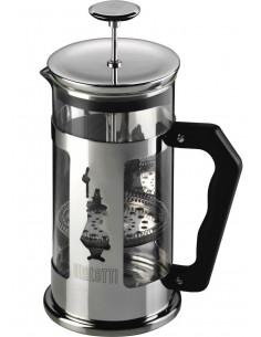 Bialetti 0003160 kahvinkeitin Pressopannupakkaus 0,35 L Musta, Ruostumaton teräs Bialetti 0003160/NW - 1
