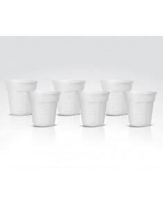 Bialetti BICCHIERINO kuppi Valkoinen Kahvi 6 kpl Bialetti Y0TZ502 - 1