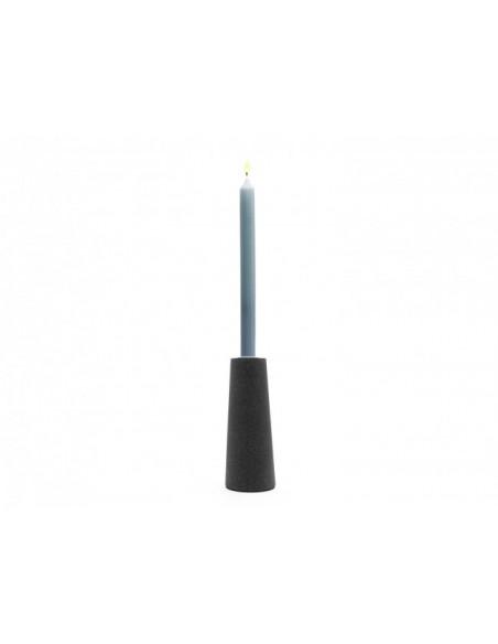 Zilverstad Oblique kynttilänpidike Lasi, Ruostumaton teräs Musta Zilverstad 8119070 - 3