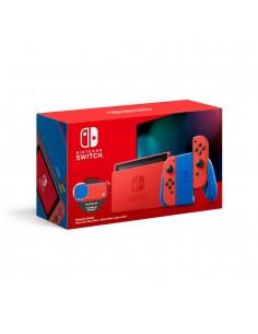 """Nintendo Switch Mario Red & Blue Edition kannettava pelikonsoli 15.8 cm (6.2"""") 32 GB Kosketusnäyttö Wi-Fi Sininen, Punainen Nint"""