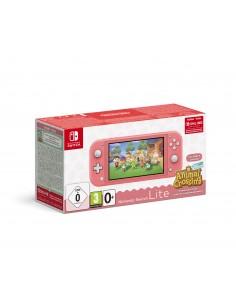 Nintendo Switch Lite Koralle Inkl. Animal Crossing Nintendo 10005232 - 1