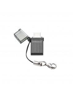 Intenso Mini Mobile Line USB-muisti 16 GB USB Type-A / Micro-USB 2.0 Musta Intenso 3524470 - 1