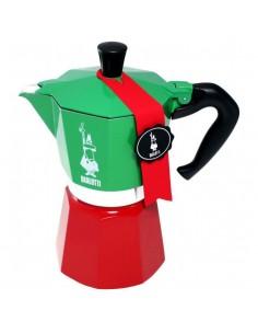 Bialetti 0005323 kahvinkeitin Mokkapannu 0.24 L Vihreä, Punainen, Valkoinen Bialetti 0005323 - 1