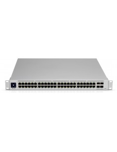 Ubiquiti Networks UniFi USW-PRO-48 verkkokytkin Hallittu L2/L3 Gigabit Ethernet (10/100/1000) 1U Hopea Ubiquiti USW-Pro-48 - 1