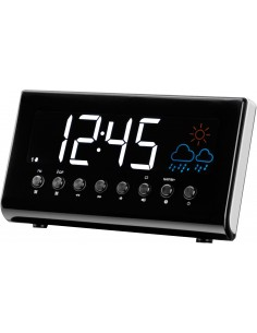 Denver CR-718 Digital alarm clock Black Denver 111131000090 - 1