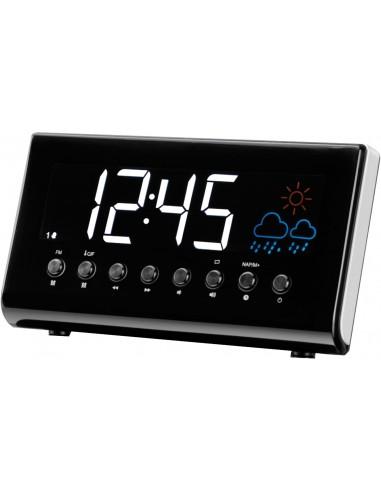 Denver CR-718 Digital alarm clock Black Denver 111131000090 - 1