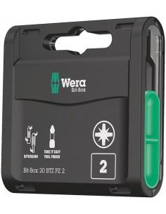 Wera Bit-Box 20 BTZ PZ talttaterä kpl Wera 05057761001 - 1