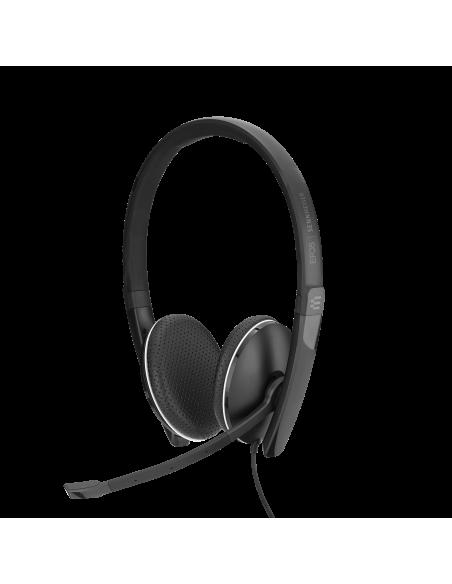 EPOS | Sennheiser ADAPT SC 165 USB Kuulokkeet Pääpanta 3.5 mm liitin A-tyyppi Musta Sennheiser 508317 - 3
