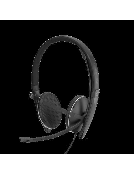 EPOS | Sennheiser ADAPT SC 165 USB Kuulokkeet Pääpanta 3.5 mm liitin A-tyyppi Musta Sennheiser 508317 - 6