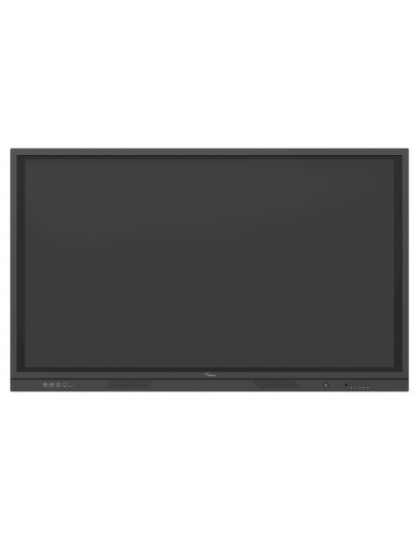 """Optoma 3751RK infonäyttö Interaktiivinen litteä paneeli 190.5 cm (75"""") LED 4K Ultra HD Musta Kosketusnäyttö Sisäänrakennettu Opt"""