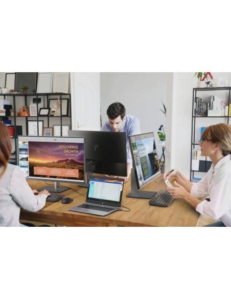 "HP EliteDisplay E243d 60.5 cm (23.8"") 1920 x 1080 pixels Full HD LED Grey, Silver Hp 1TJ76AA#ABB - 6"