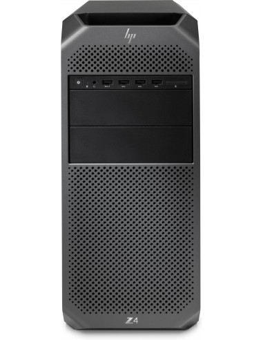 HP Z4 G4 W-2123 Mini Tower Intel® Xeon W 16 GB DDR4-SDRAM 256 SSD Windows 10 Pro Arbetsstation Svart Hp 3MB70EA#UUW - 1
