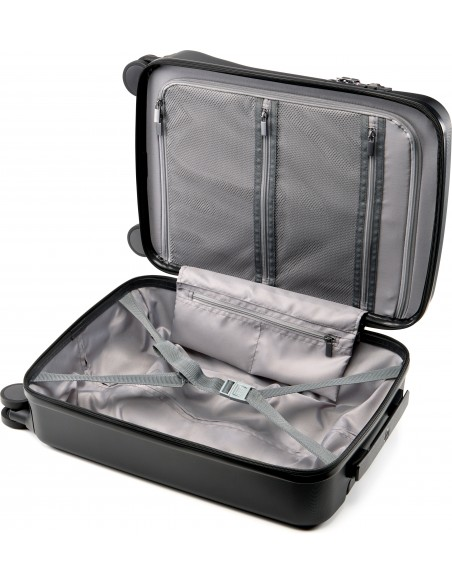 HP All in One Carry On Luggage Trolley Black Acrylonitrile butadiene styrene (ABS), Polycarbonate Hp 7ZE80AA - 5