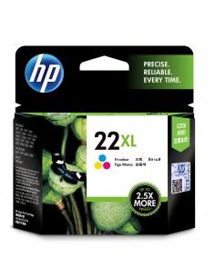 HP 22XL 1 kpl Alkuperäinen Korkea (XL) värintuotto Syaani, Magenta, Keltainen Hp C9352CE#UUQ - 1
