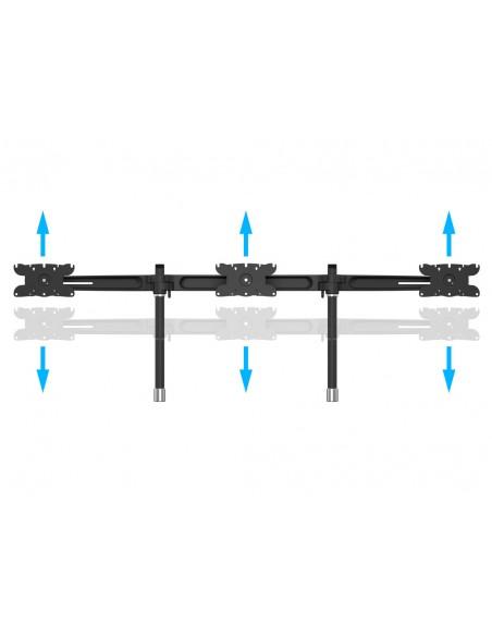 Multibrackets M VESA Desktopmount Triple Stand 24''-32'' Expansion Kit Multibrackets 7350073731329 - 12