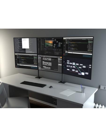 Multibrackets M VESA Desktopmount Triple Stand 24''-32'' Expansion Kit Multibrackets 7350073731329 - 17